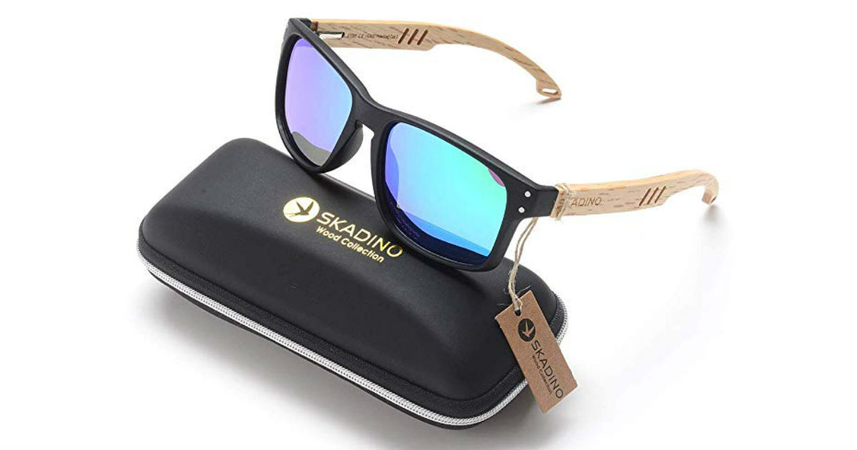 Skandino Bamboo Sunglasses ONLY $29.99 (Reg. $60)