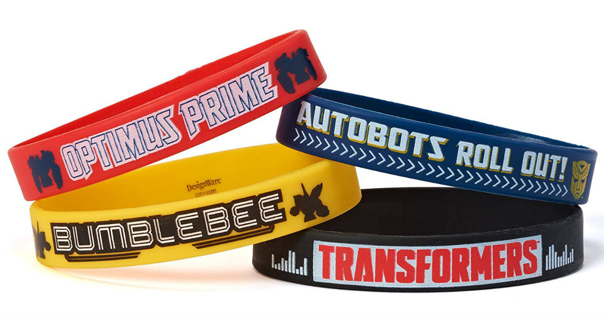 Transformers Rubber Bracelets.