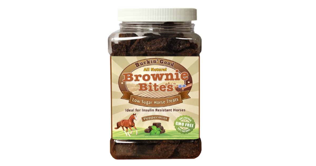 Free Sample Of Buckin Good Brownie Bites Low Sugar Horse Treats Gina S Kokopelli