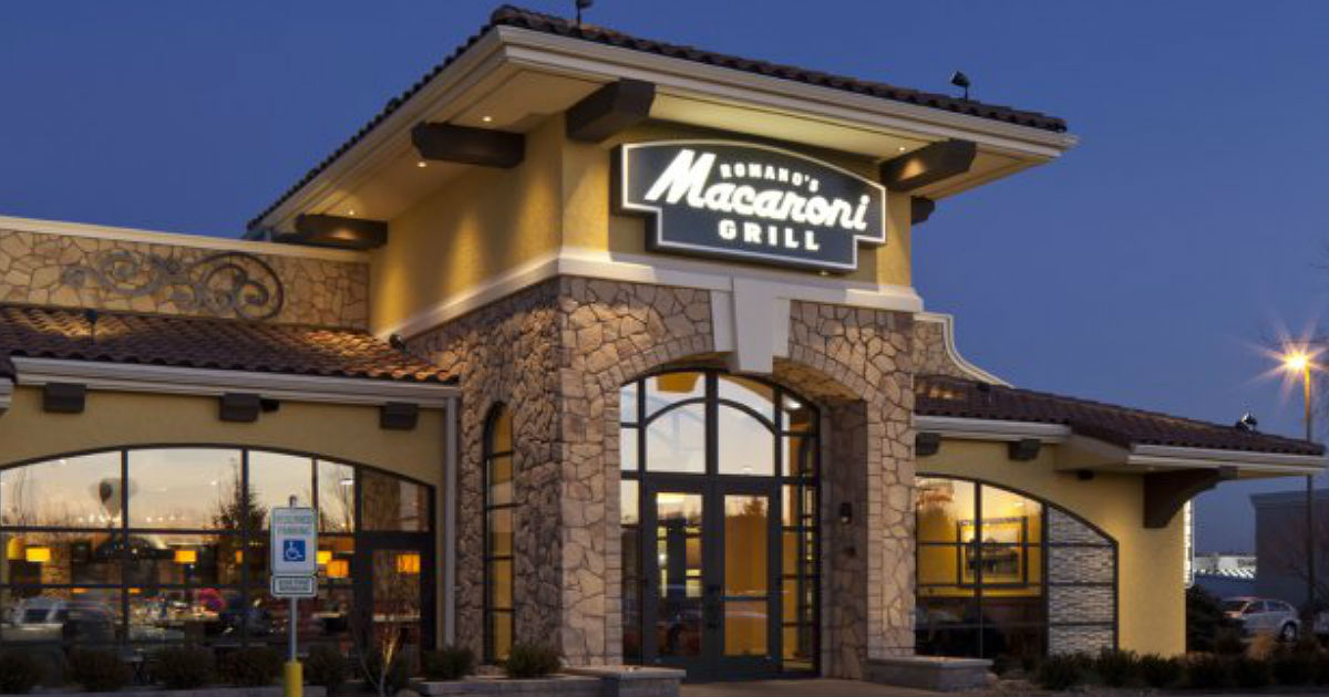 25% Off at Macaroni Grill - Printable Coupons