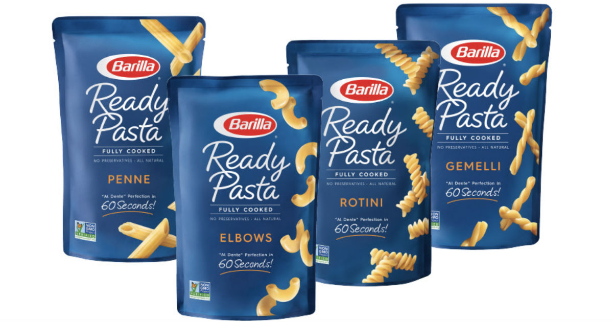 Barilla Ready Pasta ONLY $0.68 at Walmart