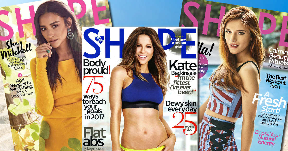 FREE Subscription to Shape Mag...
