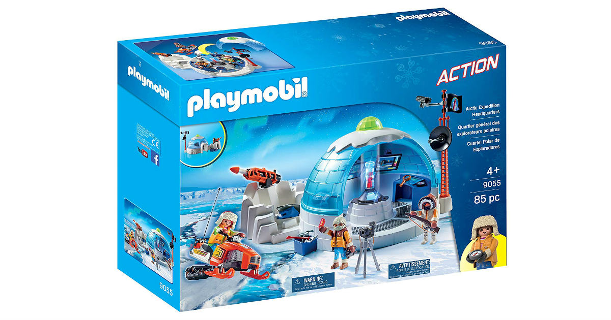 Playmobil Arctic Expedition Headquarters ONLY $18.32 (Reg. $50)