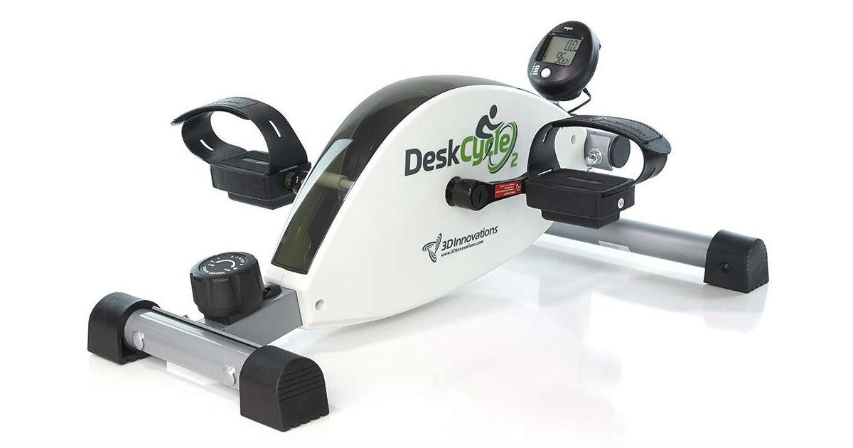 DeskCycle Under Desk Exercise Bike ONLY $119 (Reg. $159)