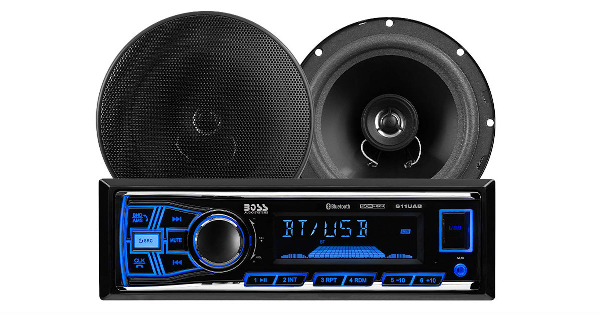 BOSS Audio Car Stereo Package ONLY $38.24 (Reg. $88)