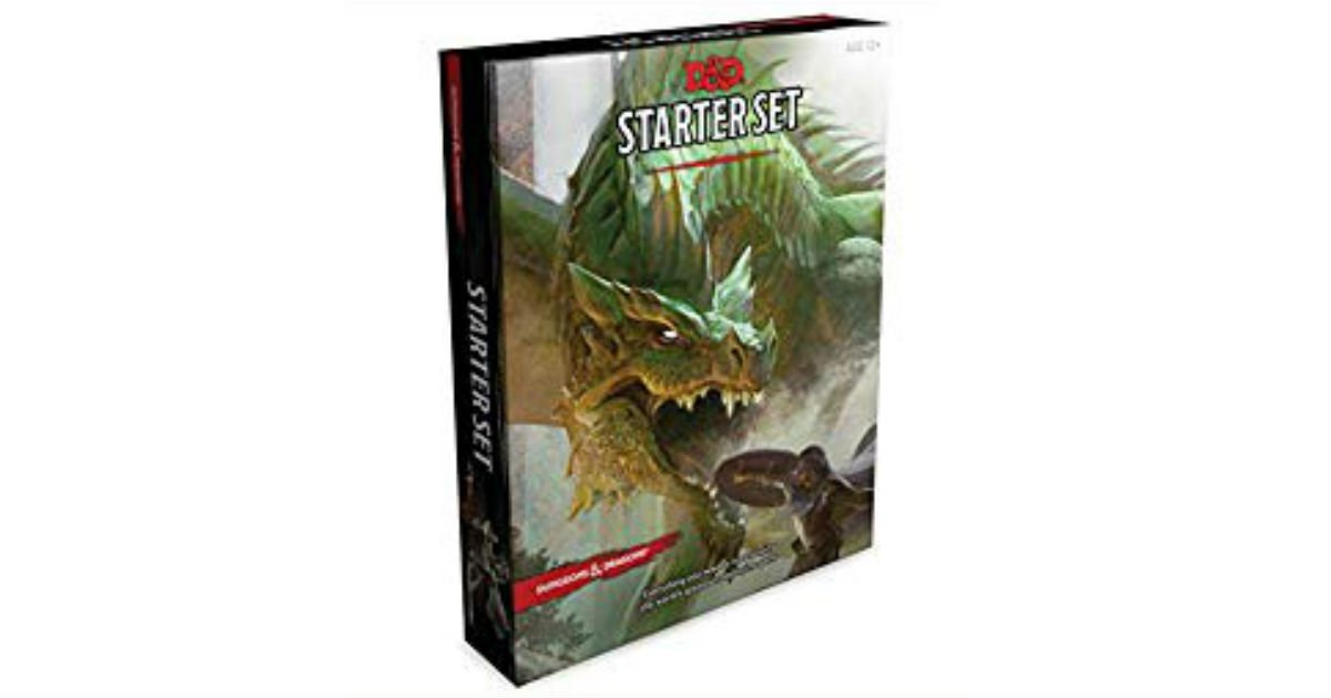 Dungeons & Dragons Starter Set ONLY $9.59 (Reg. $20)