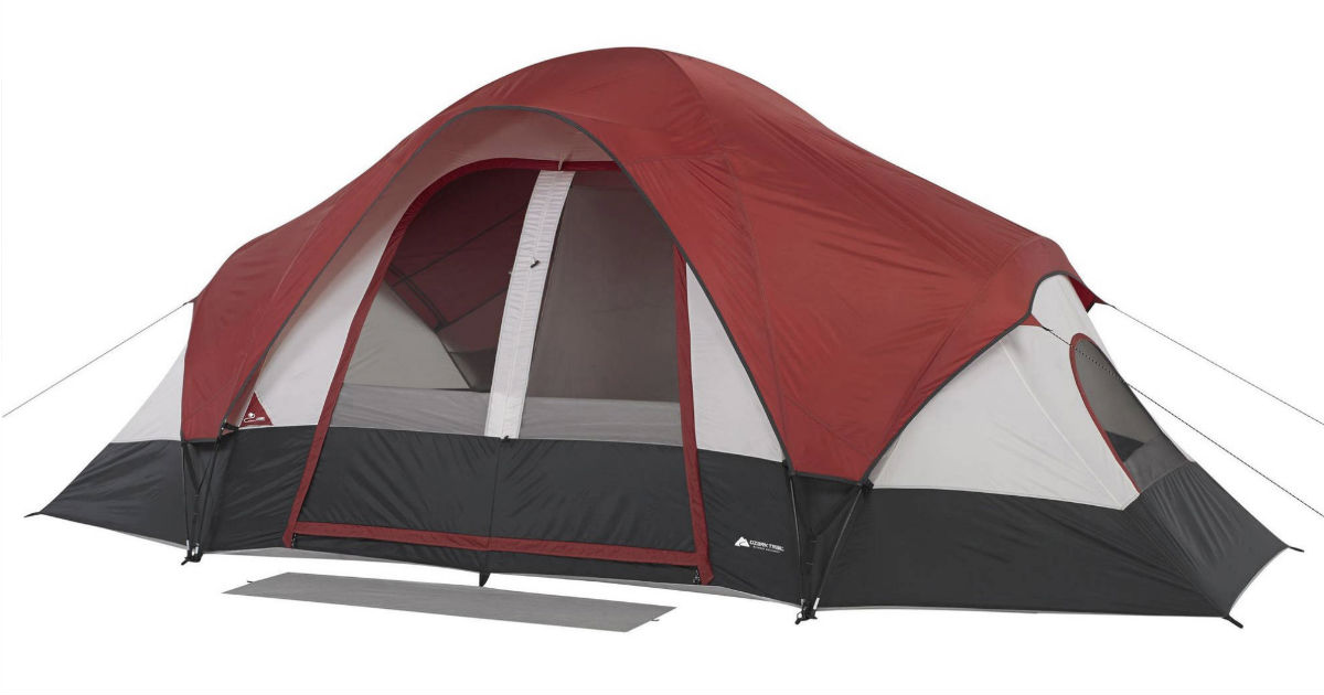 Ozark Ozark Trail 8-Person Family Tent ONLY $49.95 at Walmart