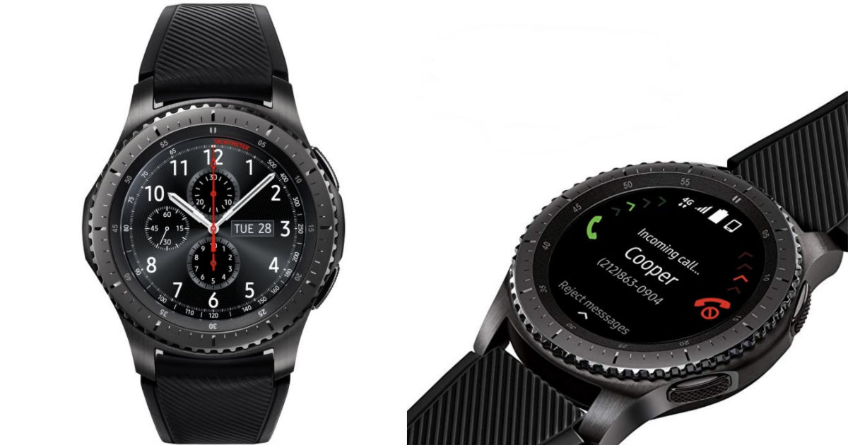Samsung Gear Frontier Smartwatch ONLY $189.99 Shipped