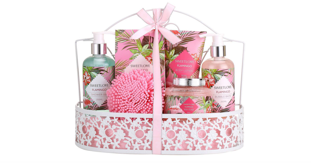 Luxury 7-Piece Gift Basket ONLY $15.99 (Reg. $30)