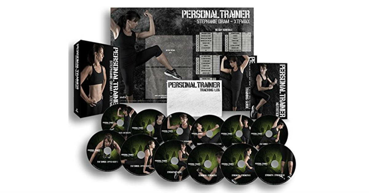 Personal Trainer: 90 Day Workout Program ONLY $15.99 (Reg.$ 30)