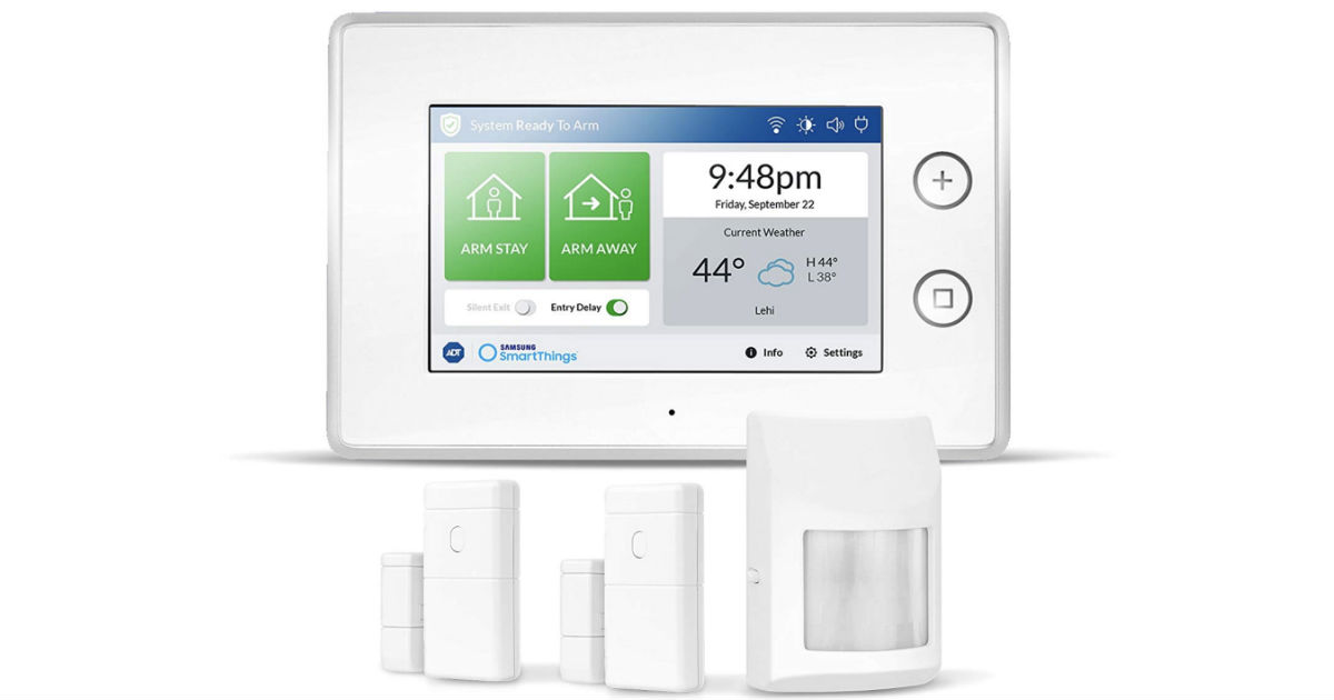 Samsung ADT Wireless Home Security Kit ONLY $99.99 (Reg $550)