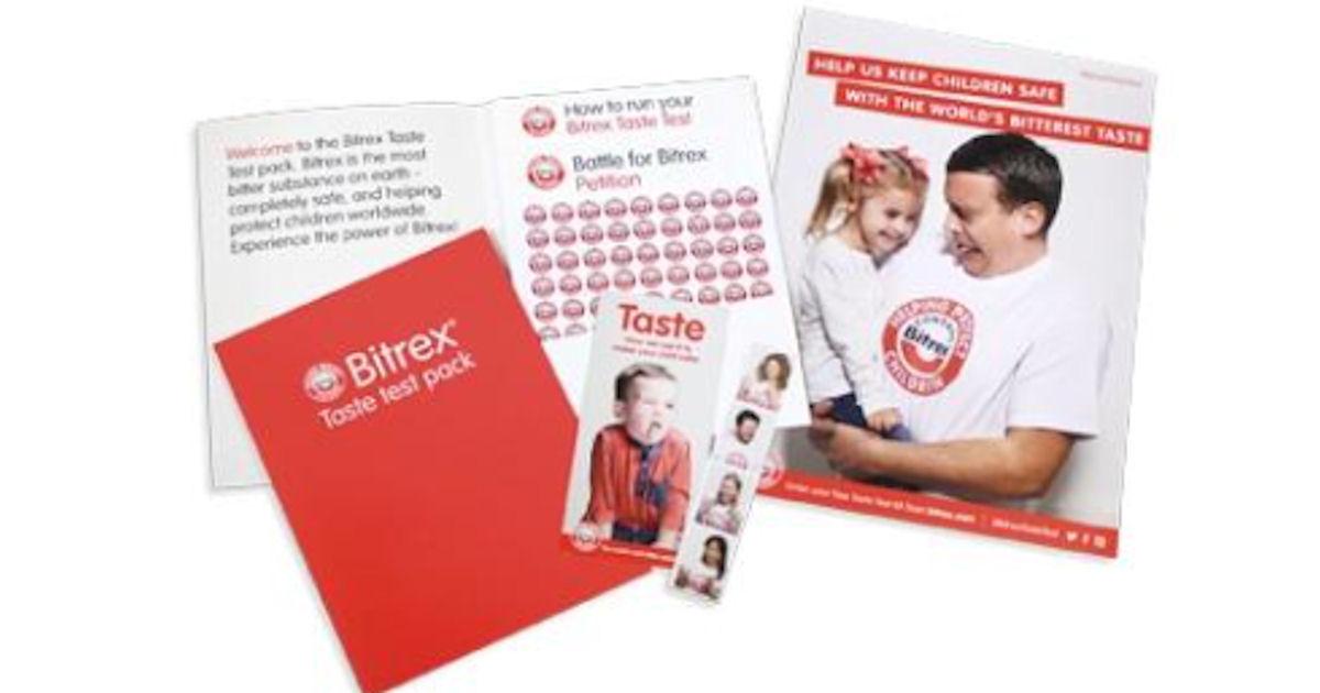 FREE Bitrex Taste Test Kit...