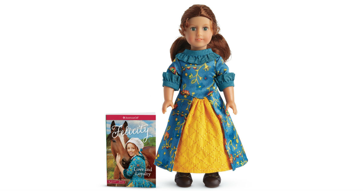 American Girl Felicity Mini Doll ONLY $15.37 (Reg. $25)
