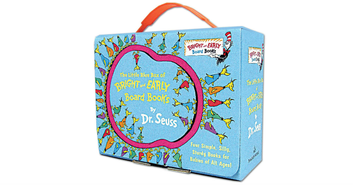Little Blue Box Board Books by Dr. Seuss ONLY $11 (Reg. $20)