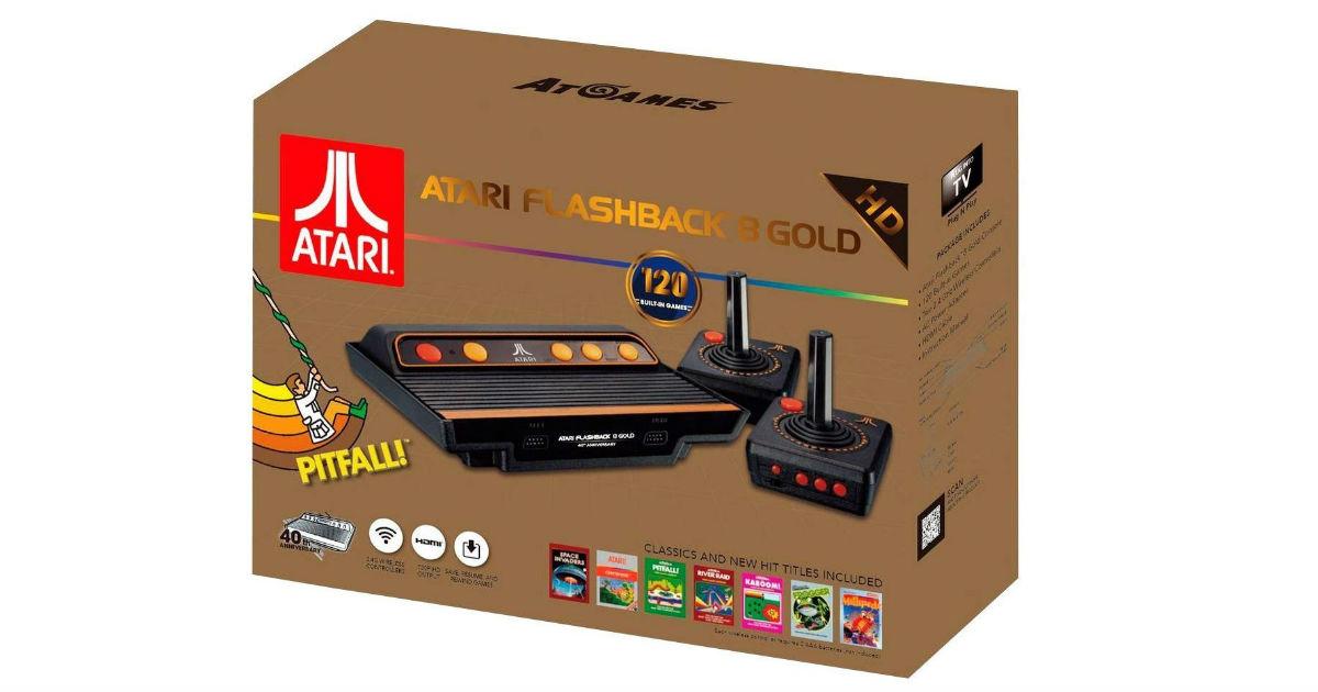 Atari Flashback 8 Gold Console ONLY $59.50 (Reg. $120)