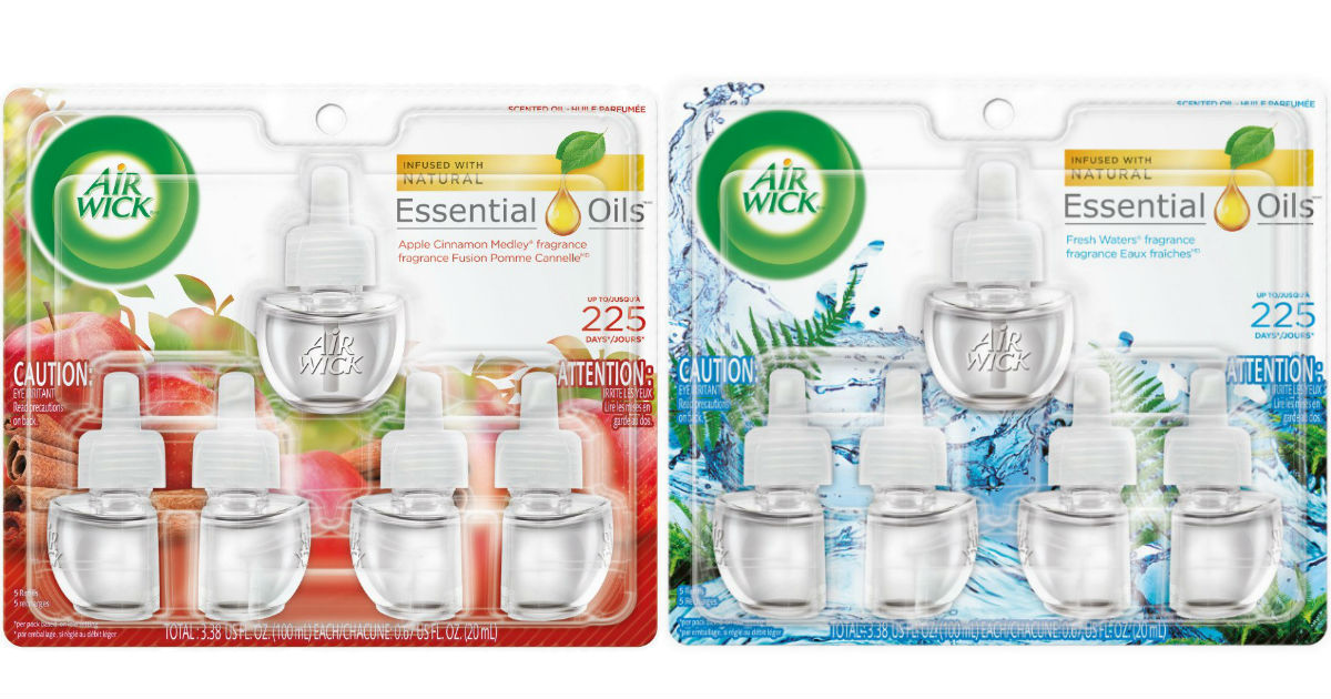 Air Wick Scented Oil Refills 5-ct ONLY $7.34 Shipped