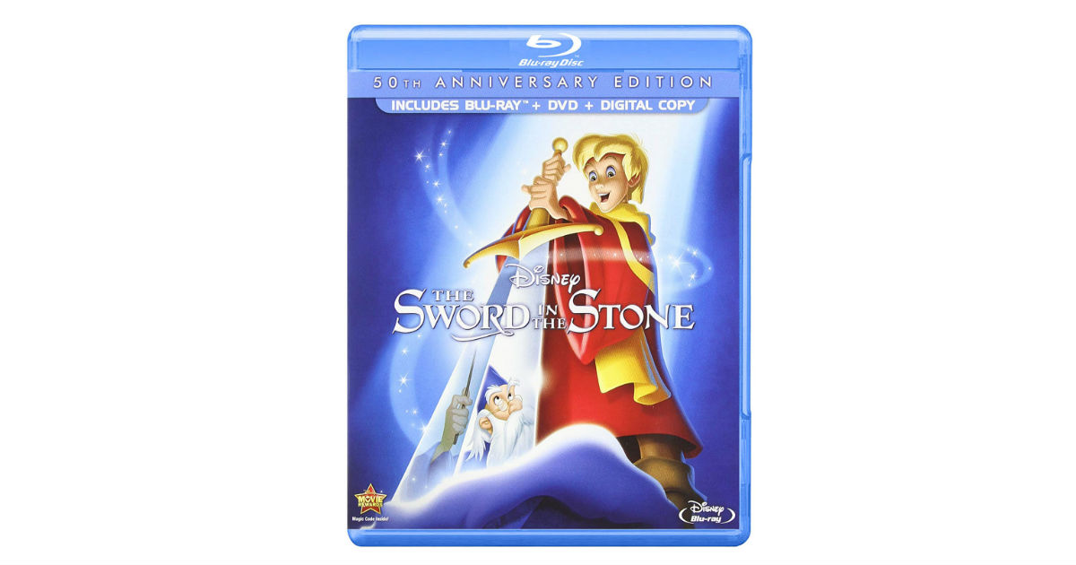 The Sword in the Stone 50th Anniversary Edition ONLY $12.13