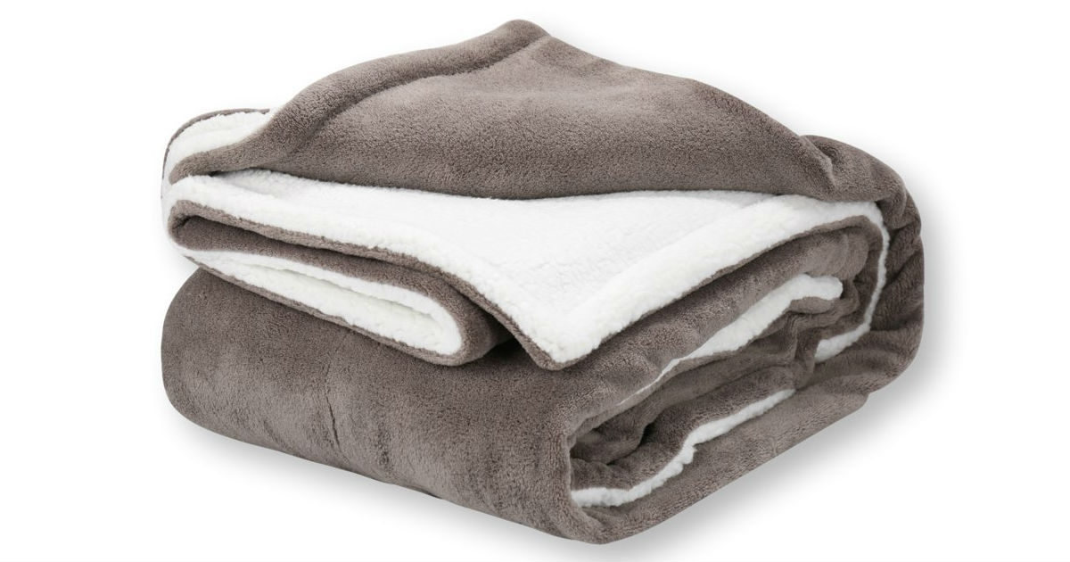 Pembrook Plush Fleece Blanket ONLY $13.72 (Reg. $25)