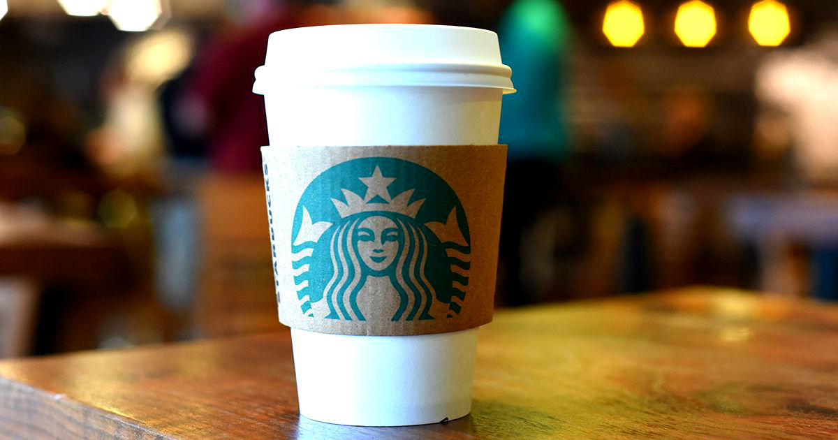 50% off any Grande or Venti Espresso at Starbucks