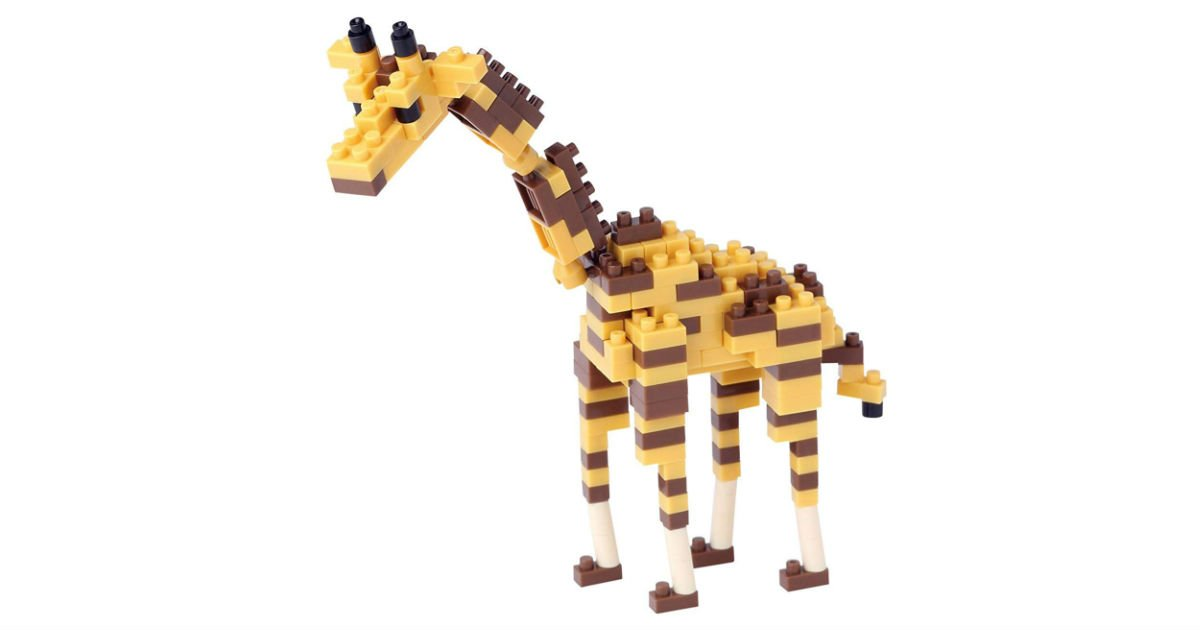 Nanoblock Giraffe ONLY $8.25 on Amazon (Reg. $16)