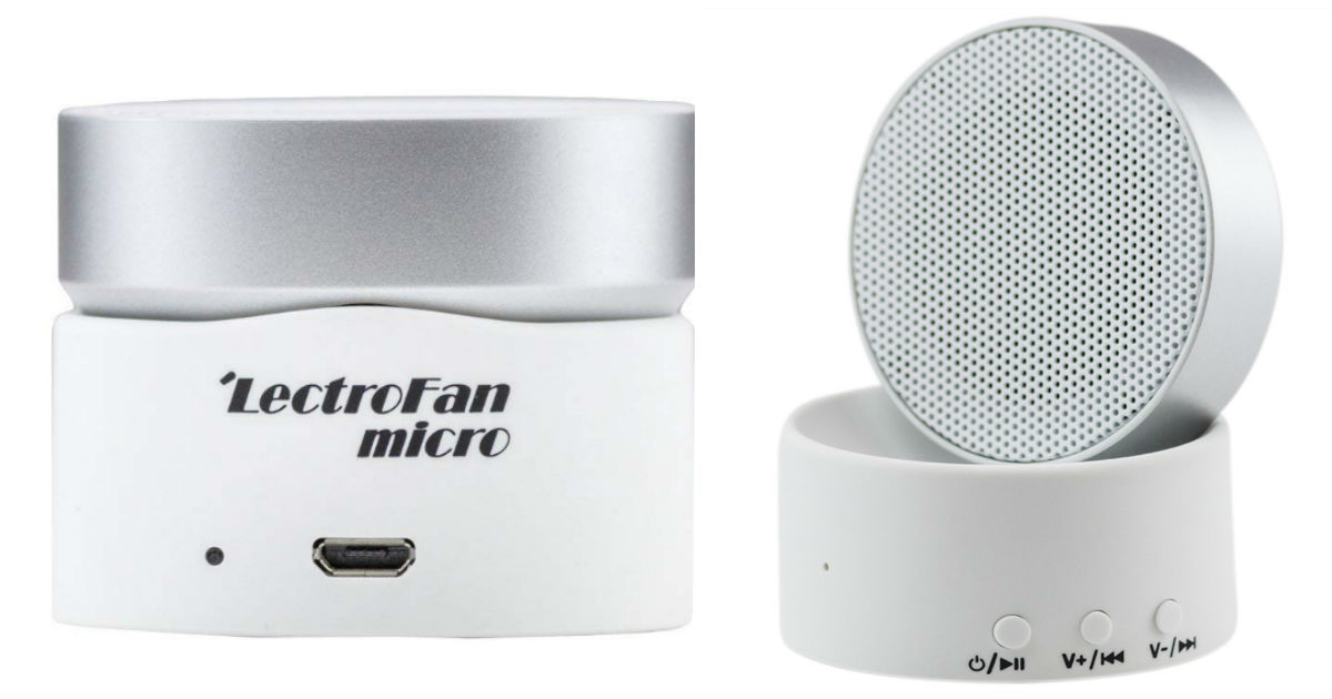 LectroFan Sleep Sound Machine.