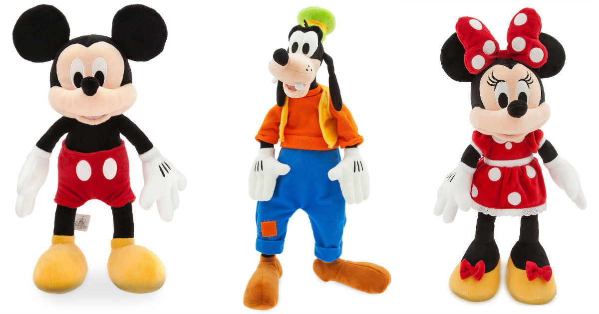 Save 50% on Disney Plush Characters + FREE Personalization