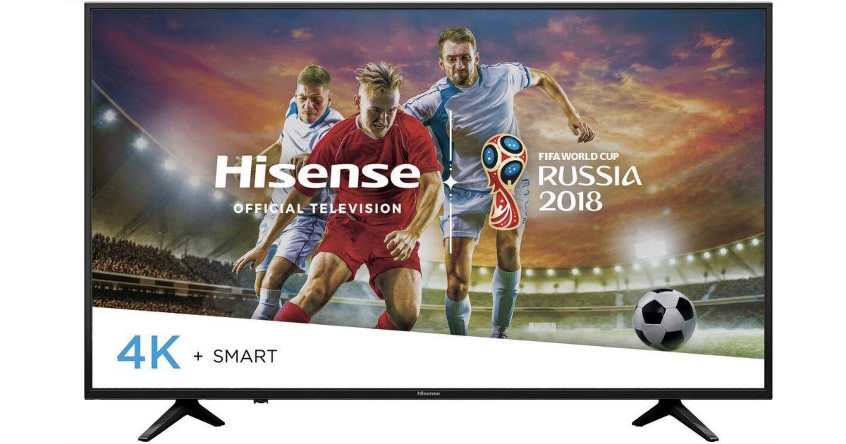 Hisense 49-Inch 4K Ultra HD Smart TV ONLY $219.99 Shipped