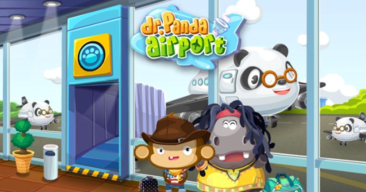 FREE Dr. Panda Airport App...