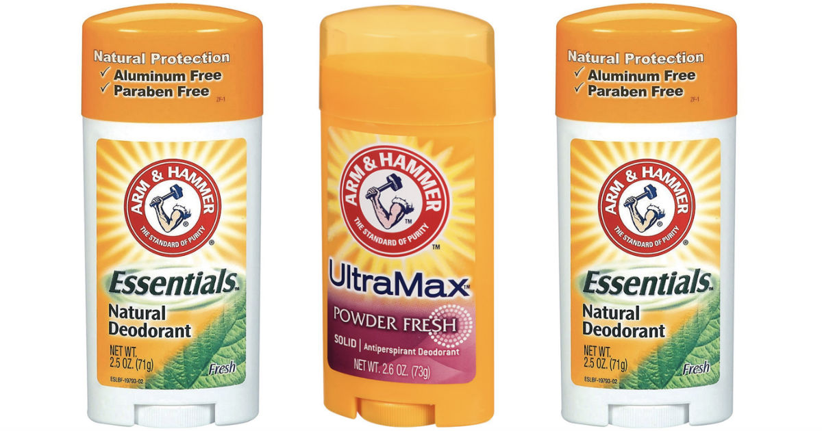 photograph regarding Printable Deodorant Coupons known as Arm Hammer Deodorant Merely $0.99 at Walgreens - Printable
