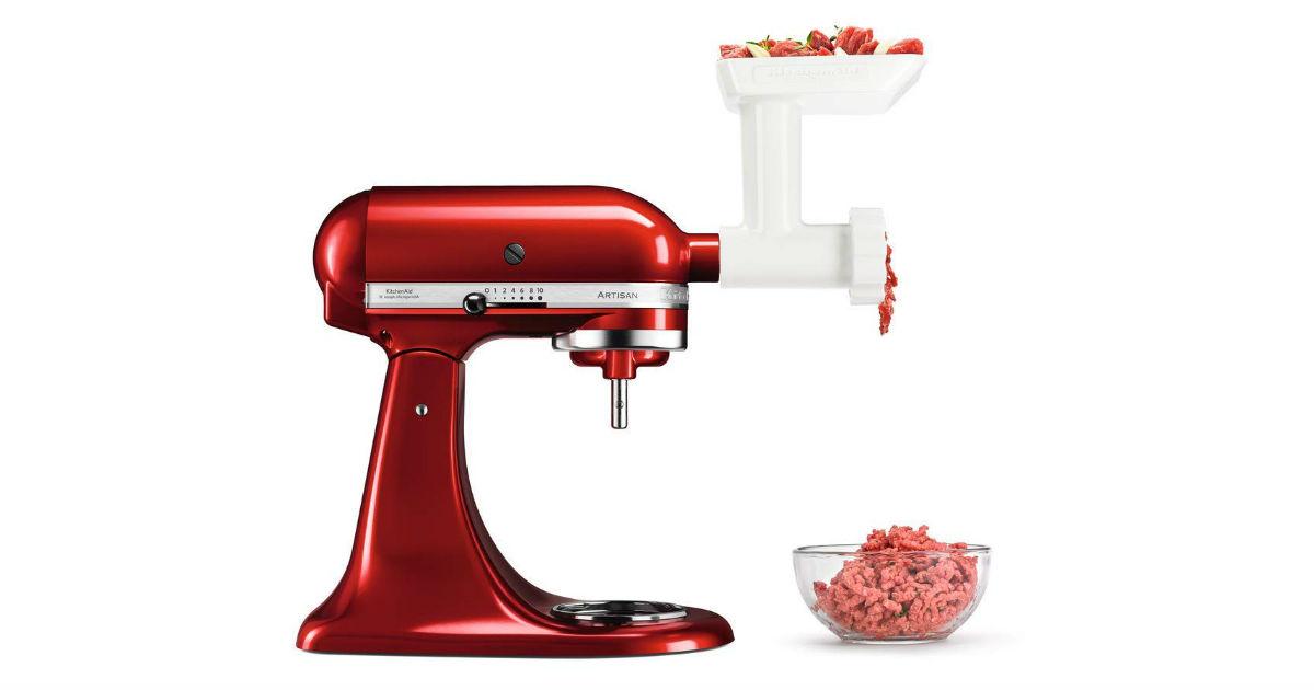 KitchenAid Food Grinder Attachment ONLY $26.35 (Reg. $65)