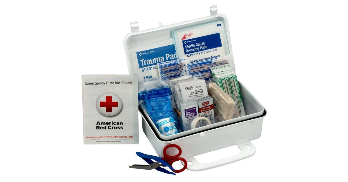 First Aid 10 Person Kit ONLY $9.86 (Reg. $19.20)