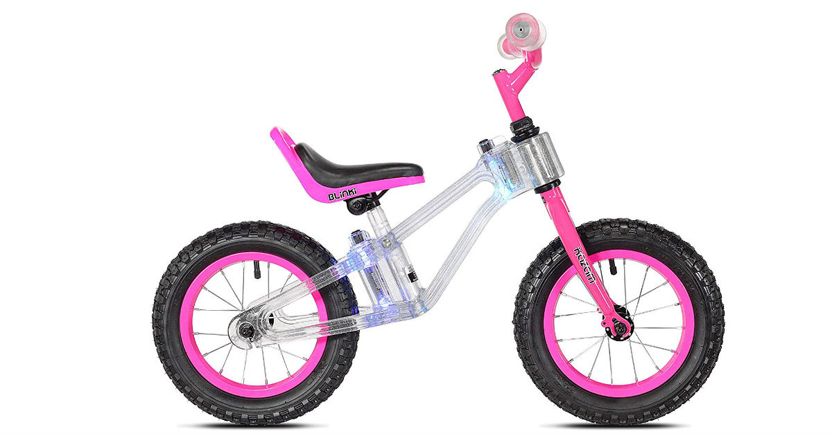 KAZAM Blinki Pink Balance Bike ONLY $39 Shipped (Reg. $130)