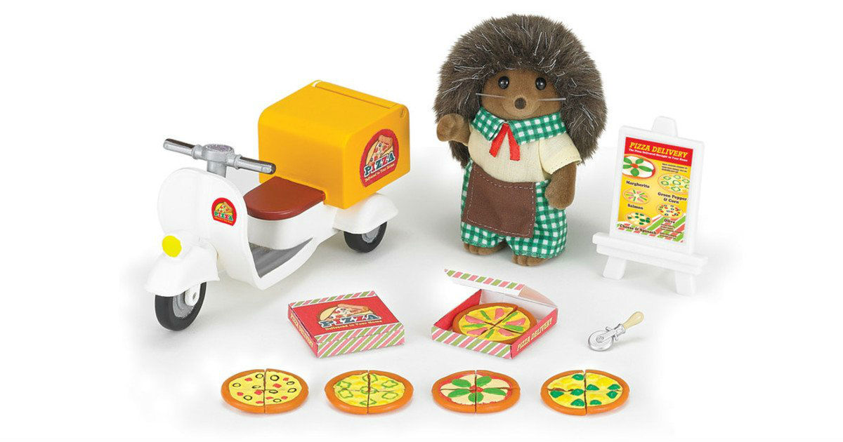 Calico Critters Pizza Delivery Set oNLY $13.92 (Reg. $25)