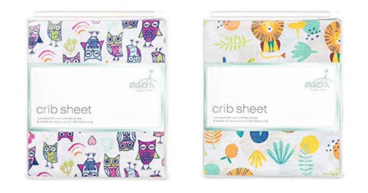 Aden + Anais Crib Sheets ONLY $8.50 (Reg. $17)