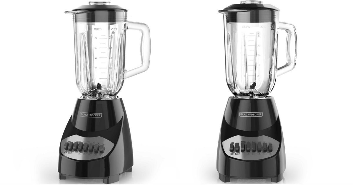 Black & Decker 10 Speed Blender ONLY $10 (Reg $38) After Rebate