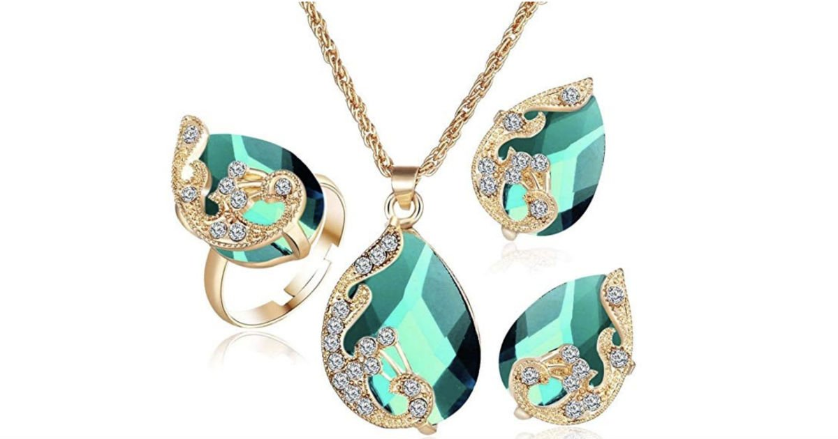 Bohemia Color Bib Chain Jewelry Set ONLY $4.99 Shipped