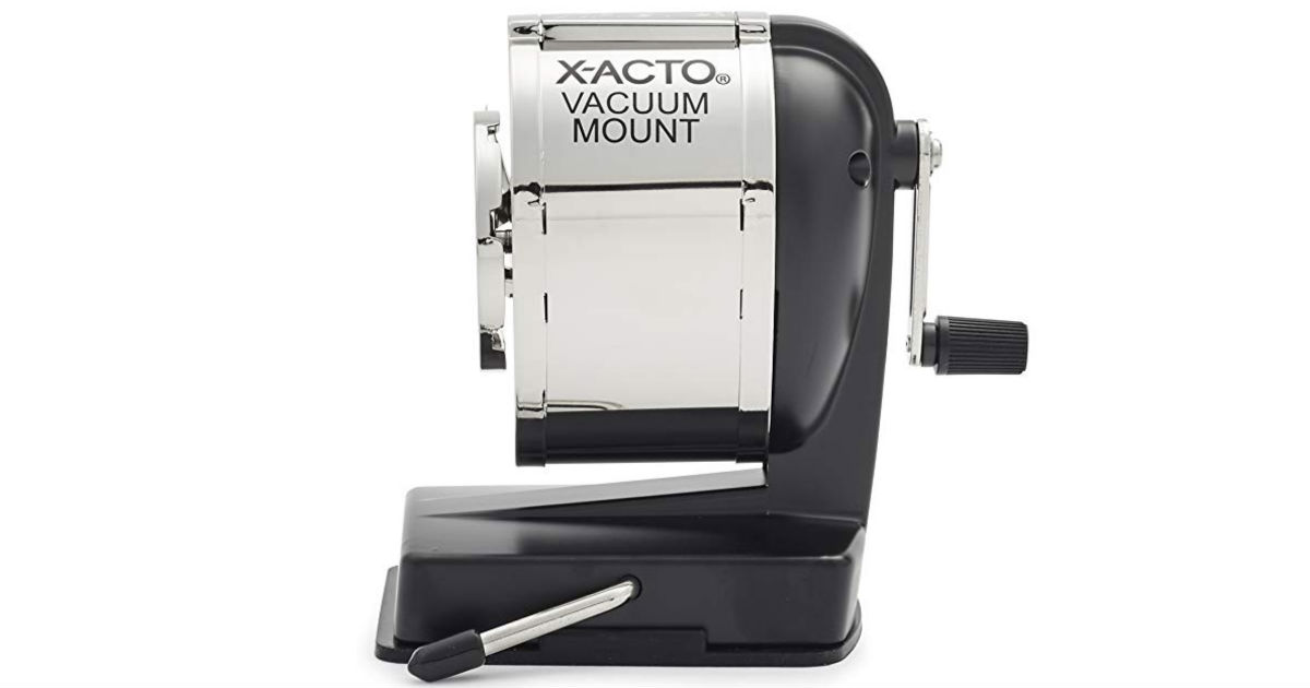 X-ACTO KS Manual Pencil Sharpener ONLY $10.09 (Reg $28)