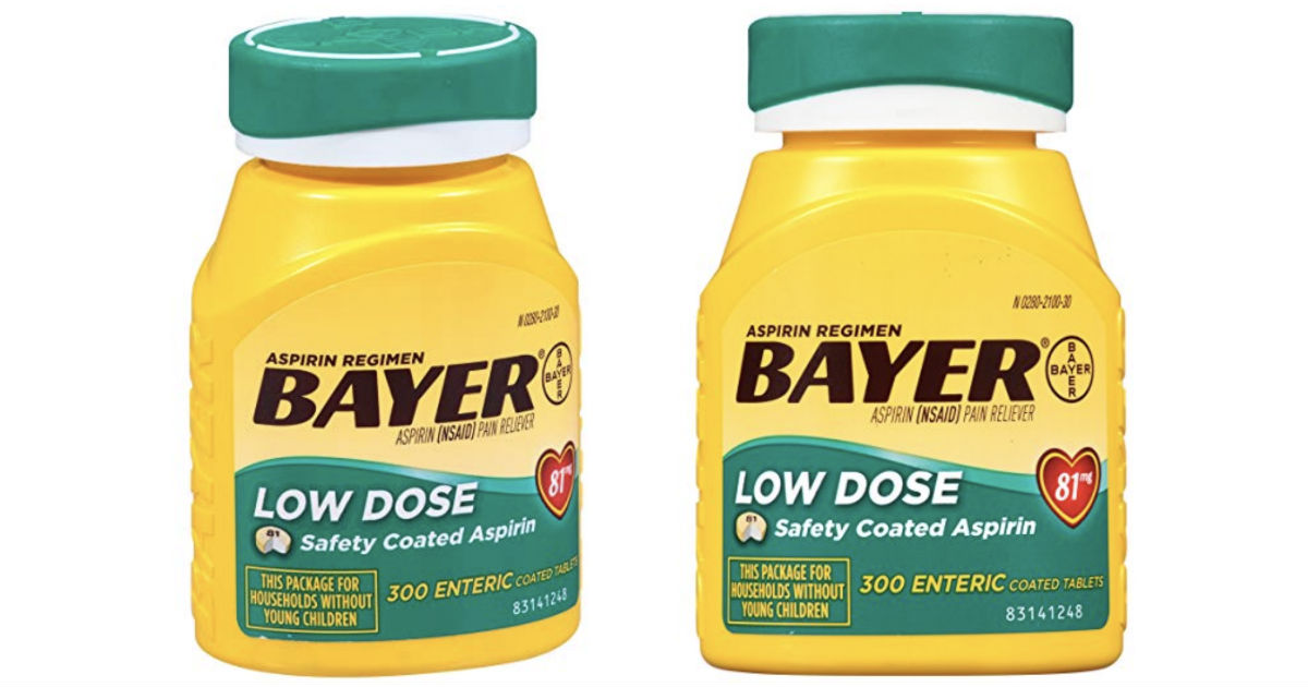 Bayer Aspirin 300-Count Tablets ONLY $6.54 Shipped