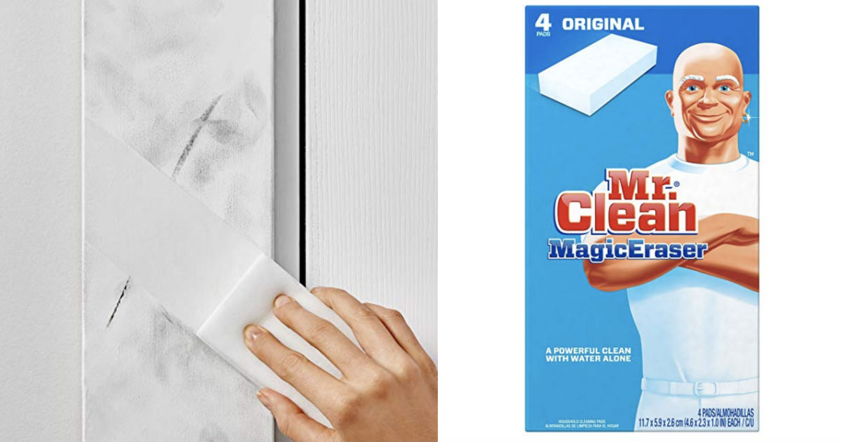 Mr. Clean Magic Eraser 4ct ONLY $2.47 Shipped on Amazon