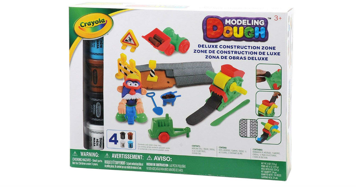Crayola Modeling Dough 24-Piece Kit ONLY $8.86 (Reg. $25)