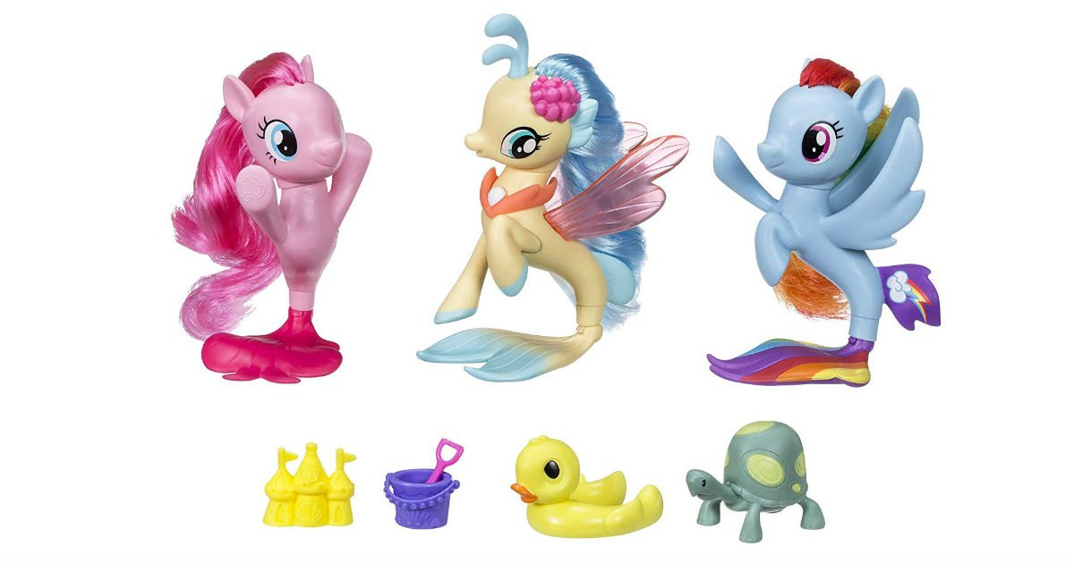 My Little Pony Seapony Collection ONLY $10.07 (Reg. $25)