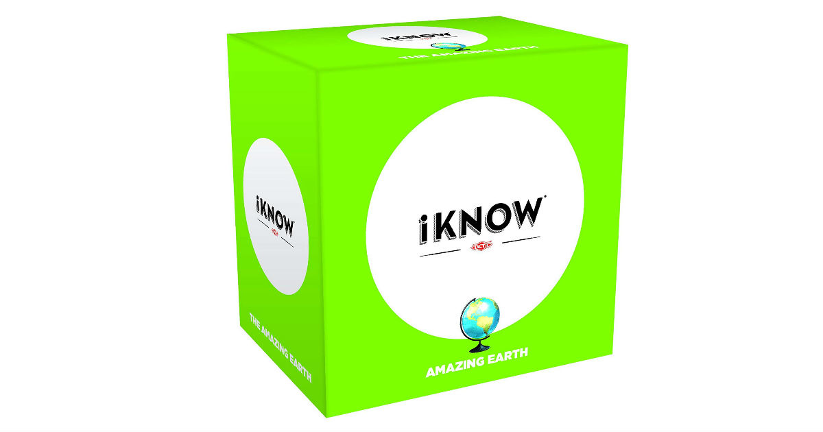 iKnow Amazing Earth Trivia Game ONLY $7.99 (Reg. $18)