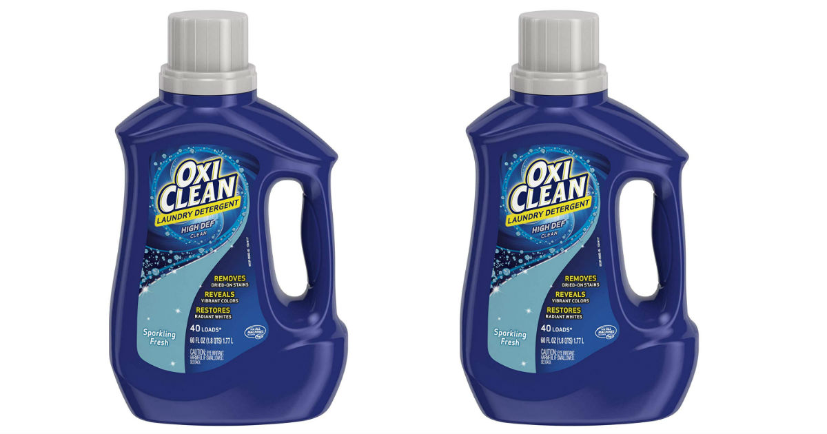 OxiClean Laundry Detergent Only $1.99 at CVS