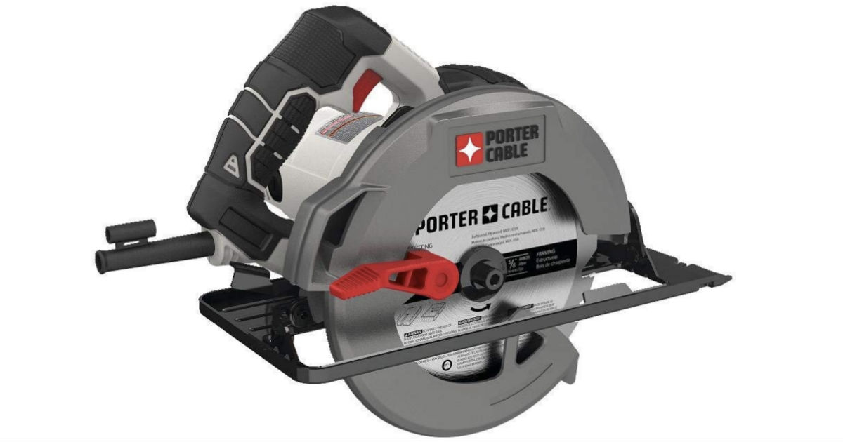 Porter Cable Heavy Duty Circular Saw ONLY $29.98 (Reg $60)