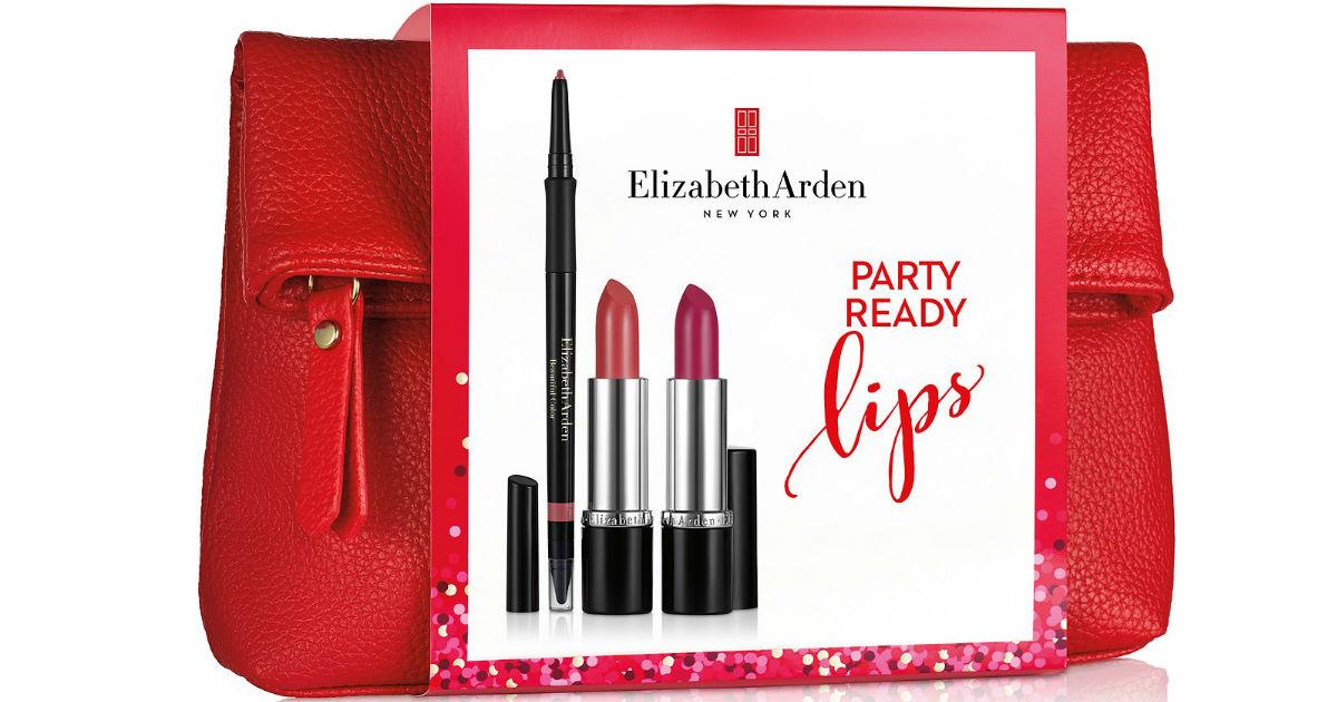 Elizabeth Arden Party Ready Lips Set ONLY $17 (Reg $29)