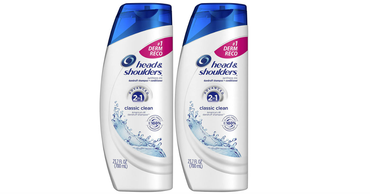 Head & Shoulders Shampoo 2-Pack ONLY $8.59 Shipped