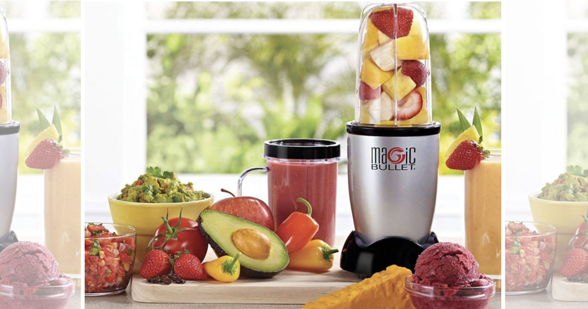 Magic Bullet 11-Piece Set ONLY $25.49 Shipped