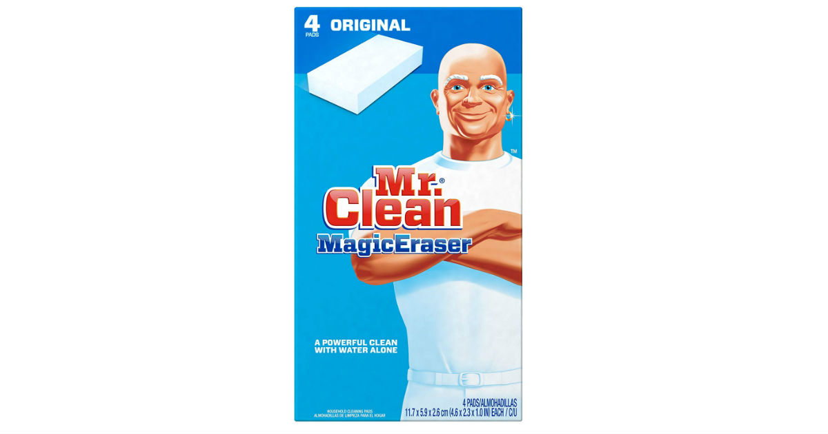 Mr. Clean Magic Eraser ONLY $0.62 Each on Amazon