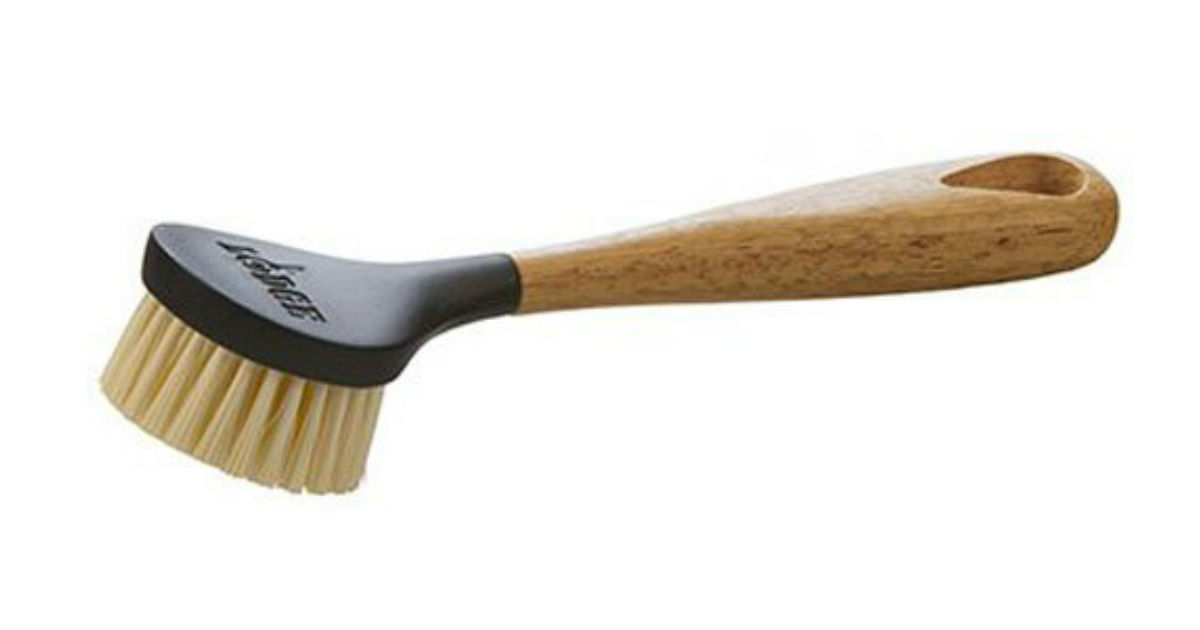 Lodge Cast Iron Scrub Brush ONLY $4.86 on Amazon