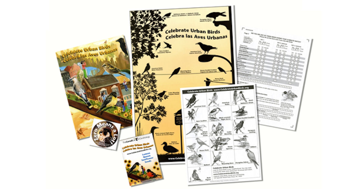 FREE Celebrate Urban Birds Kit...